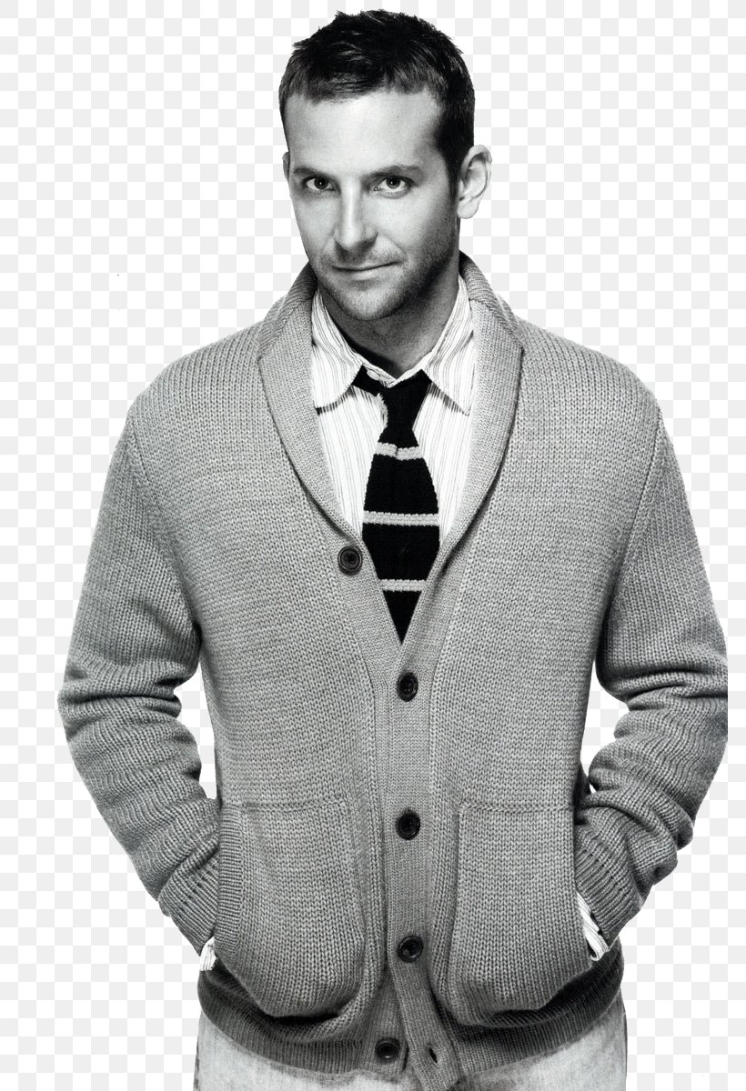 Bradley Cooper The Hangover Celebrity, PNG, 781x1200px, Bradley Cooper, Actor, Black And White, Blazer, Cardigan Download Free