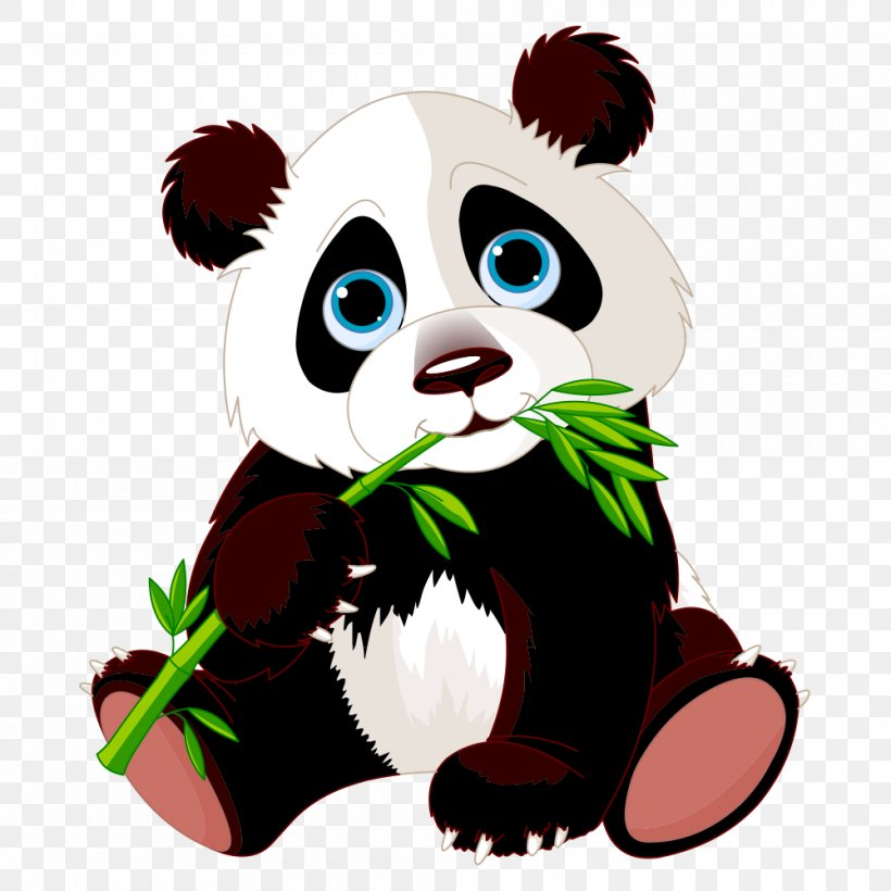 Giant Panda Stock Photography Clip Art, PNG, 1000x1000px, Giant Panda, Bamboo, Bear, Carnivoran, Cat Like Mammal Download Free
