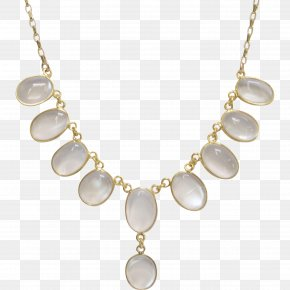 Necklace - Pearl Locket Necklace Jewellery PNG