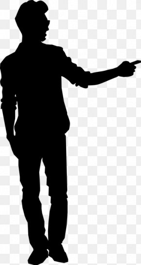 Man Standing Silhouette Images Man Standing Silhouette Transparent Png Free Download