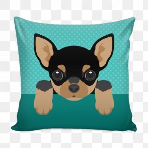 Throw Pillows - Dog Breed Chihuahua Throw Pillows Puppy PNG
