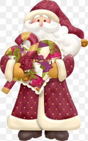 Santa Claus - Santa Claus Christmas Candy Cane Easter Clip Art PNG