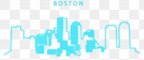 Sky Blue Boston - Boston Light Blue Euclidean Vector PNG