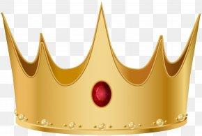 Golden Crown Transparent Clip Art Image - Clip Art PNG
