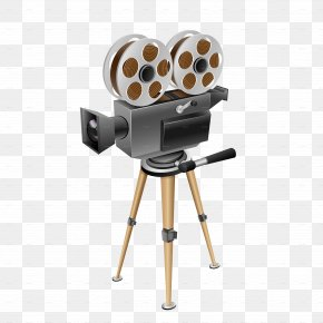 Projector - Photographic Film Cinema Movie Camera PNG