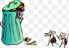 Cartoon Dustbin - Rubbish Bins & Waste Paper Baskets Waste Management Recycling Clip Art PNG