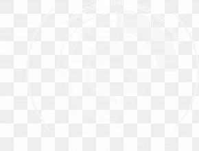 White Technology Circle - White Symmetry Black Pattern PNG