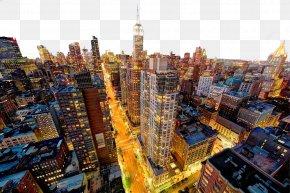 Empire State Building In New York Night Photo Image - Manhattan Macintosh Desktop Computer Display Resolution Wallpaper PNG