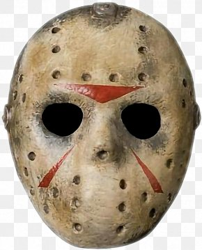 Friday The 13th Mask - Jason Voorhees Friday The 13th: The Game Goaltender Mask PNG
