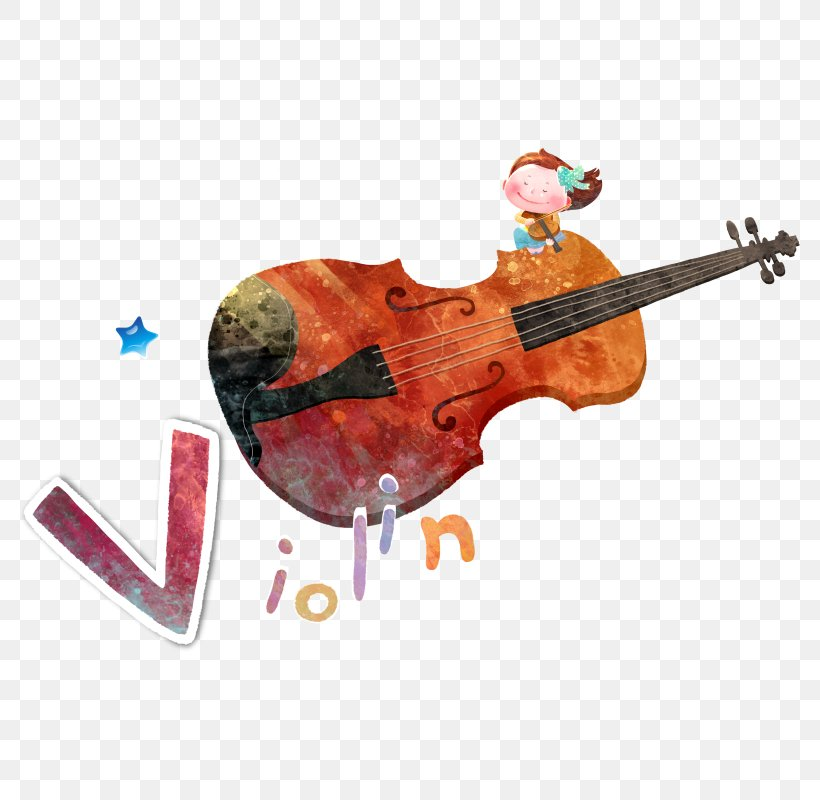 Violin Musical Instrument, PNG, 800x800px, Watercolor, Cartoon, Flower, Frame, Heart Download Free