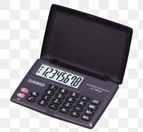 Digital Calculator - Solar-powered Calculator Numerical Digit Casio PNG