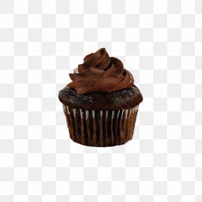 Chocolate Cupcakes - Cupcake Chocolate Cake Ganache Chocolate Brownie Muffin PNG