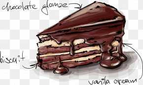 Cake - Chocolate Cake Birthday Cake Wedding Cake Drawing PNG