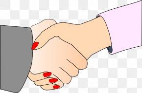 Handshake Cliparts - Handshake Woman Clip Art PNG
