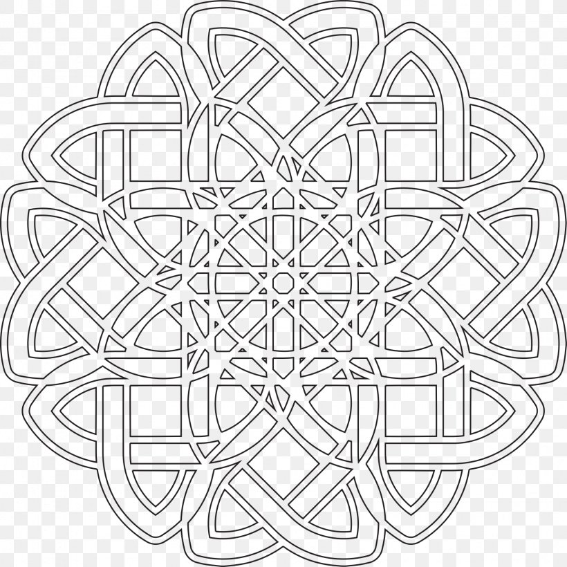Black And White Clip Art Vector Graphics Line Art Image, PNG, 1692x1692px, Black And White, Abstract Art, Area, Art, Drawing Download Free