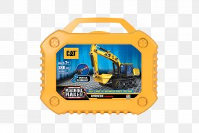 Excavator - Caterpillar Inc. Heavy Machinery Architectural Engineering Excavator PNG
