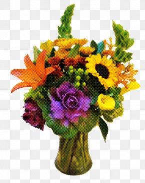 Gerbera Floral Design - Floral Design PNG