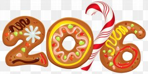 Cookie - Christmas New Year's Day Clip Art PNG