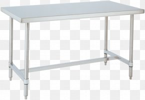 Table - Table Furniture Stainless Steel Cleanroom Shelf PNG