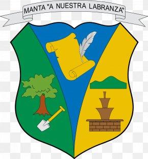 Shield - Manta, Ecuador Escudo De Manta Shield Coat Of Arms Of Colombia PNG