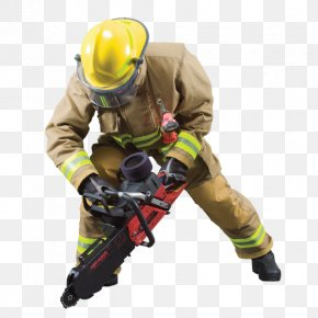 Fireman - Personal Protective Equipment Firefighter Bunker Gear Firefighting Clothing PNG