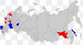 Russia - Russian Legislative Election, 2016 Russian Regional Elections, 2012 Map PNG