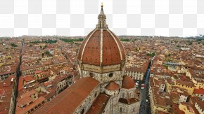Florence, Italy, Seven - Florence Cathedral Giottos Campanile Renaissance Dome PNG
