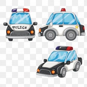 Vector Police Car - Police Car Royalty-free Police Officer PNG