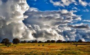 Sky - Sky Cloud Horizon Cumulus Landscape PNG