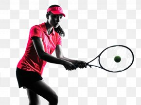 Tennis Player Backlit Photo - Tennis Player Stock Photography Woman Royalty-free PNG