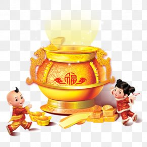 New Year's Day New Year Spring Festival Blessing Word Cornucopia - Fai Chun Chinese New Year Chinese Zodiac Fu Antithetical Couplet PNG