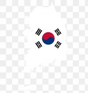 Korea Map - Flag Of South Korea United States Zazzle PNG