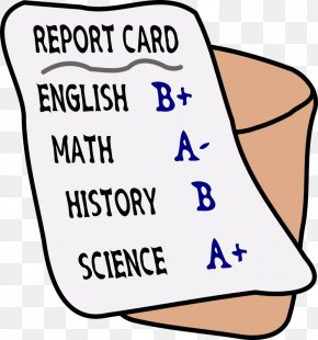 High-grade Atmospheric Grade - Report Card School Grading In Education Clip Art PNG