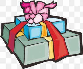 Gift - Christmas Gift Box Valentines Day PNG