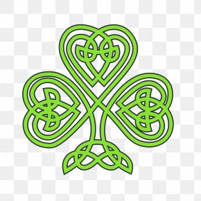 St. Patrick S Day Clipart - Shamrock Saint Patrick's Day Four-leaf Clover Clip Art PNG