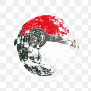 T-shirt - T-shirt Death Star Poké Ball Pikachu Anakin Skywalker PNG