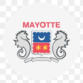 Flag - Coat Of Arms Of Mayotte Flag Departmental Collectivity PNG