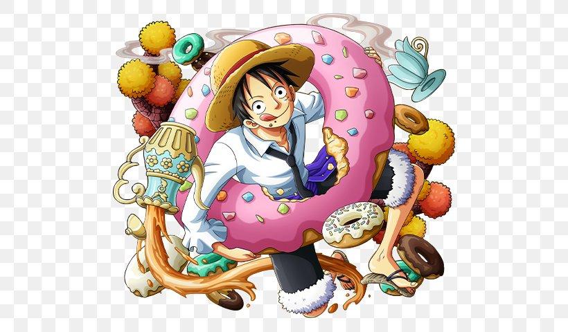 Monkey D. Luffy One Piece Treasure Cruise Portgas D. Ace Nami Vinsmoke Sanji, PNG, 540x480px, Monkey D Luffy, Art, Cartoon, Food, Jinbe Download Free