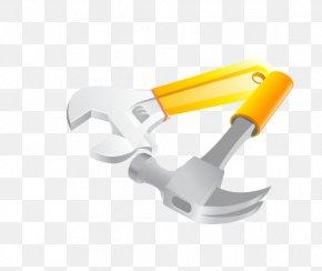Cartoon Vector Hammer - Tool Hammer PNG