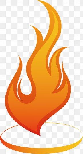 Fire Heart Decoration Design Vector Pattern - Flame Euclidean Vector Light Clip Art PNG