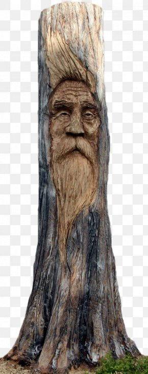 Arboles - Tree Stump Wood Carving Chainsaw Carving PNG