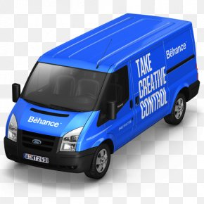 Car - Van Ford Transit Car Truck Courier PNG