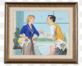 Painting - Watercolor Painting Picture Frames Trans World Airlines PNG