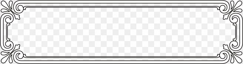 Picture Frame Black White Euclidean Vector Pattern, PNG, 3217x859px, Black And White, Area, Material, Monochrome, Monochrome Photography Download Free