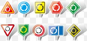 Vector Traffic Signs Commutation - Traffic Sign Road Transport PNG