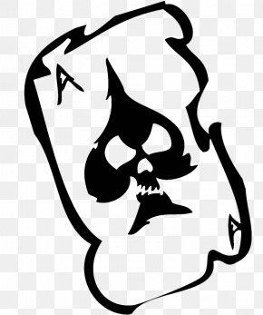 Ace Card Image - Skull Clip Art PNG