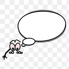 Thinking Bubble Image - Speech Balloon Cartoon Comics Clip Art PNG