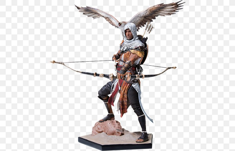 Assassin's Creed: Origins Video Game Assassins Statue, PNG, 480x526px, Video Game, Action Figure, Action Toy Figures, Art, Assassins Download Free