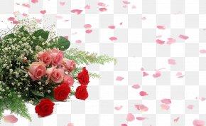 Rose Decorative Material - Flower Bouquet Love Wallpaper PNG