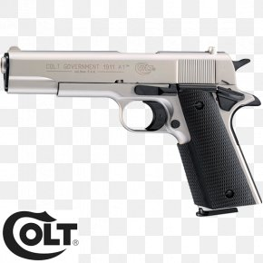 Pistolet Colt Defender - 9mm P.A.K. M1911 Pistol Blank Colt Single Action Army PNG